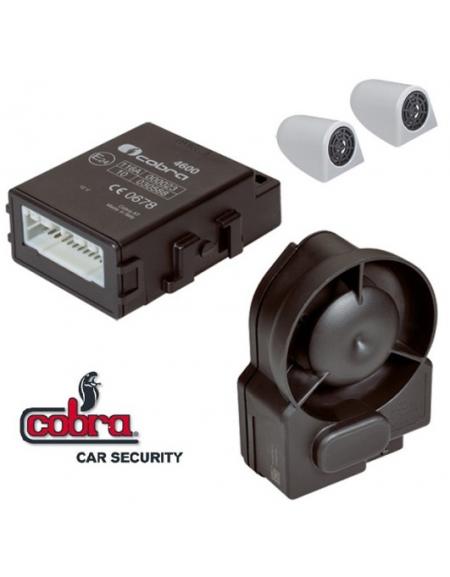 Alarma COBRA AK 4625, autoalimentada y al mando coche