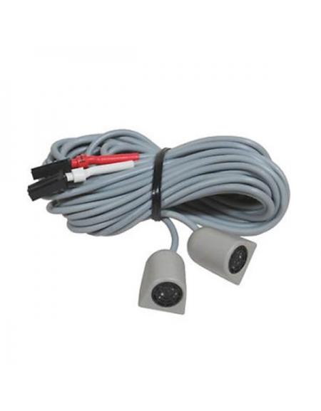 Sensores volumétricos Cobra, color gris.